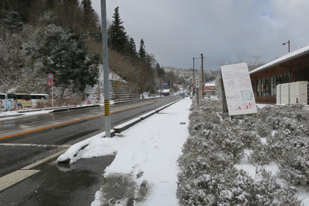 1月14日(土)雪